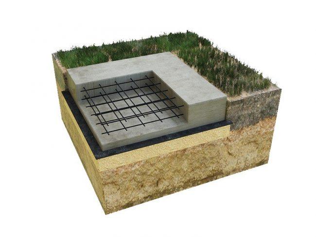 Плита 6х6 - для каменного дома